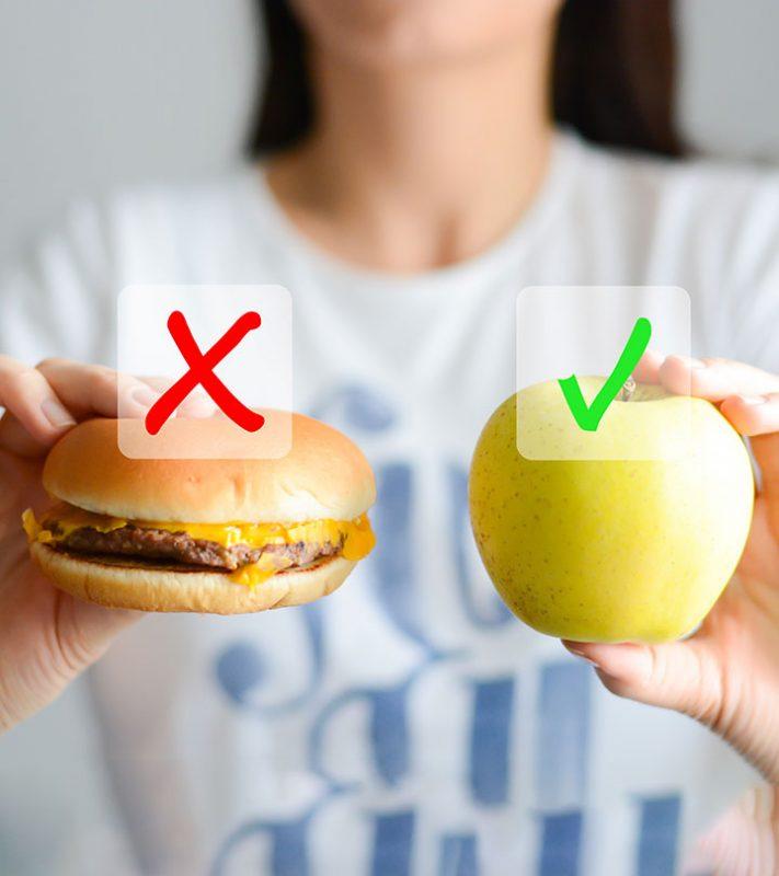 Junk Food Vs Healthy Food Comparatie Intre Ce Inseamna A